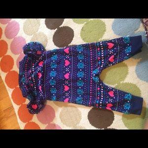 Carter's One Pieces - Fleece onesie